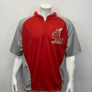 Official St Louis Cardinals Warm Up Baseball Shirt